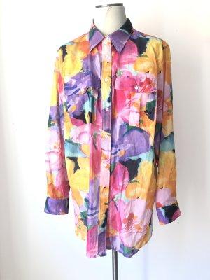 Ralph Lauren Blusa de seda multicolor