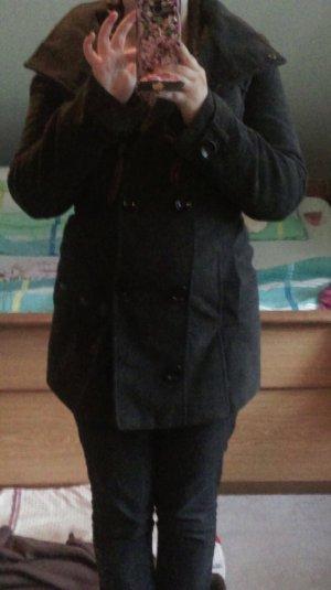 C&A Abrigo corto gris claro