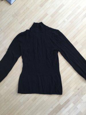 Ungetragener Pullover von Hallhuber mit Stehkragen und betonter Taille, XS