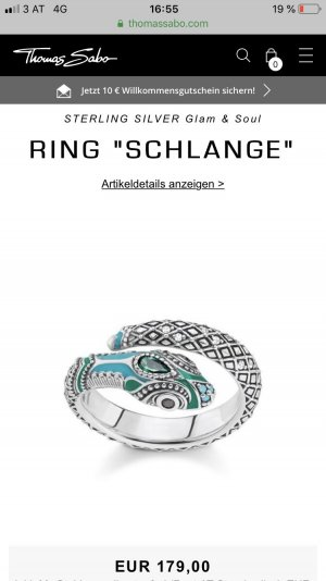 Ungetragener Ring, Thomas Sabo