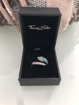 Thomas Sabo Silver Ring multicolored real silver
