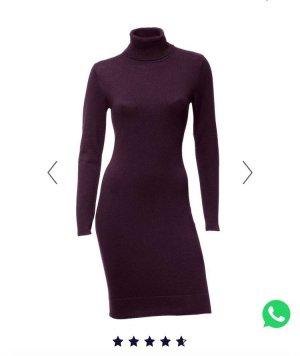 Heine Knitted Dress bordeaux