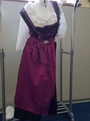 Stockerpoint Dirndl black-lilac
