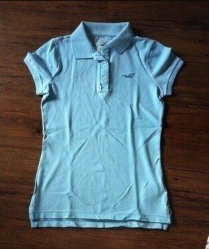 Ungetragenes Hollister Poloshirt hellblau