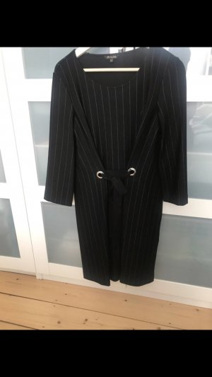 Massimo Dutti Midi Dress black-light grey