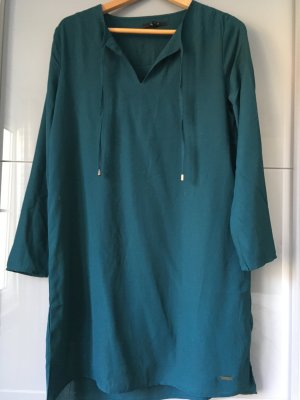 ungetragenes Petrolfarbendes Kleid von Pepe Jeans