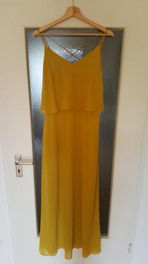 ungetragenes senfgelbes Kleid von Mango