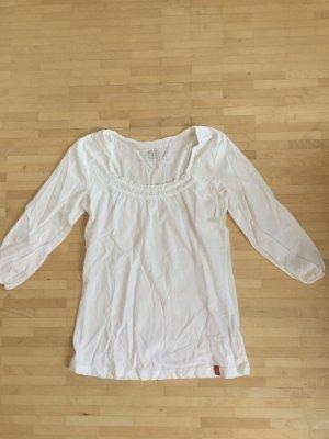 Ungetragenes Shirt von edc mit Dreiviertelarm und hübschem Ausschnitt, Gr. M