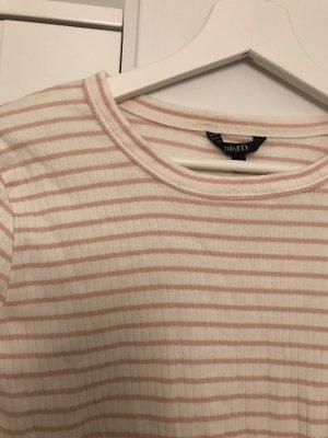 mbyM Sweat Shirt white-pink cotton