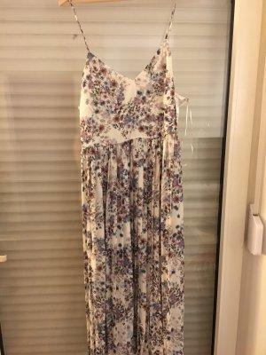 H&M Vestido de baile blanco-color rosa dorado