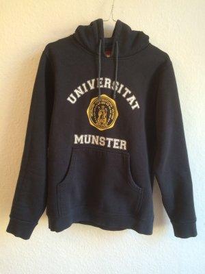 UNI MÜNSTER dunkelblauer Hoodie im College-Look