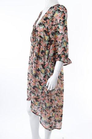 Unif Kimono Blumenmuster bunt
