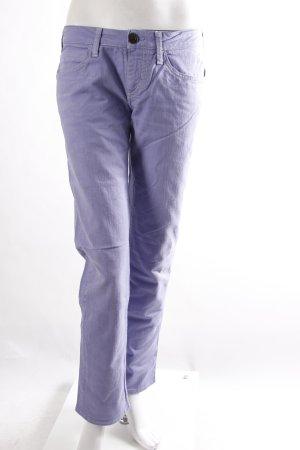 Uniform Hüftjeans lila