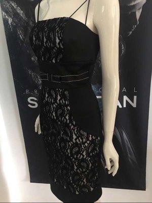 Unikat aus dem Hause S'Finks Einzelanfertigung neu 34 Cocktail Kleid sehr hoher Neupreis