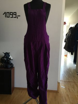 Jumpsuit lila-donkerpaars