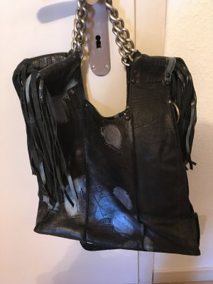 UNIKAT! Grosse Designer-Ledertasche aus London, NP=599€