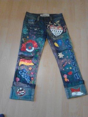 Unikat Jeans für Karneval