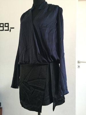 Unikat: Kleid in Wickel-Optik