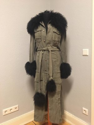 Unikat! Military Designer Mantel, Übergangsmantel von Pyrate Style