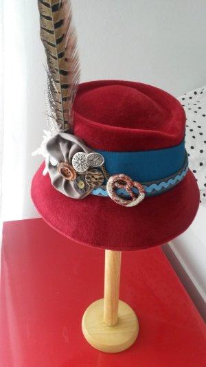 Chapeau bavarois multicolore laine
