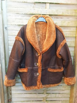 Reversible Jacket brown pelt