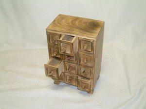 UNIKAT Vintage Landhaus Schmuckkästchen Wooden - Schatulle