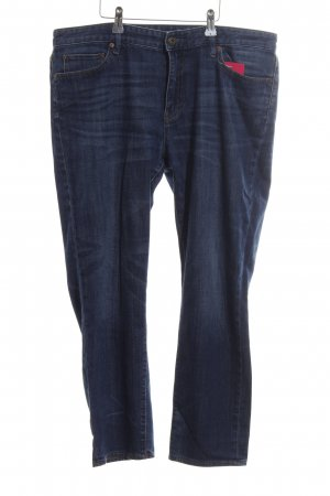 Uniqlo 3/4-jeans blauw casual uitstraling