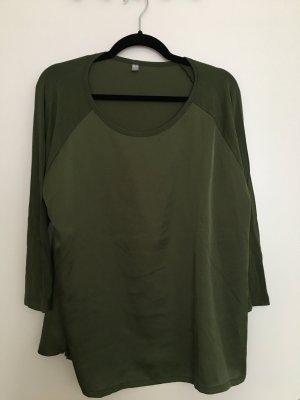 Uniqlo Baseballshirt grün, Gr. XL, guter Zustand