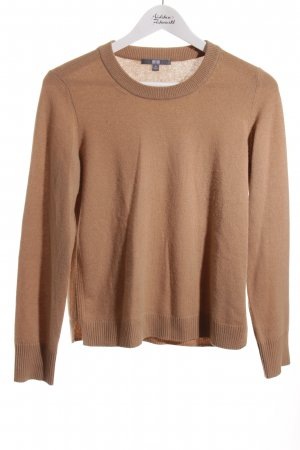 Uniqlo Cashmerepullover camel Business-Look