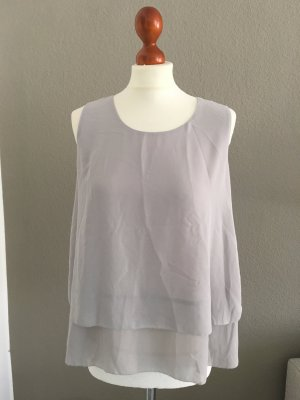 Uniqlo cooles Top Oberteil grau M NEU