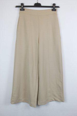 Uniqlo Culotte chameau-beige tissu mixte