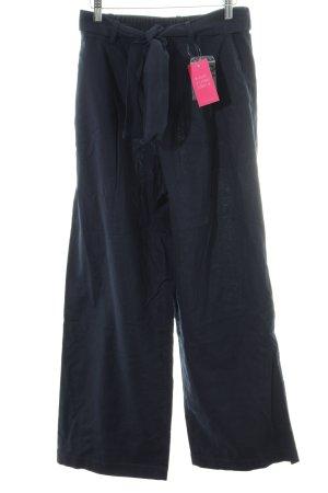 Uniqlo Pantalone culotte blu scuro stile casual