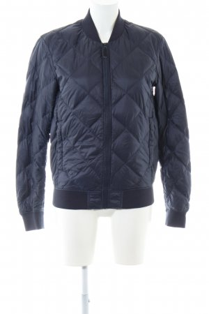 Uniqlo Daunenjacke blau Steppmuster Casual-Look