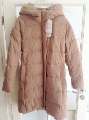 Uniqlo Daunenmantel Daunenjacke Arctic Parka mit Wolle L XL Woolrich Blauer USA