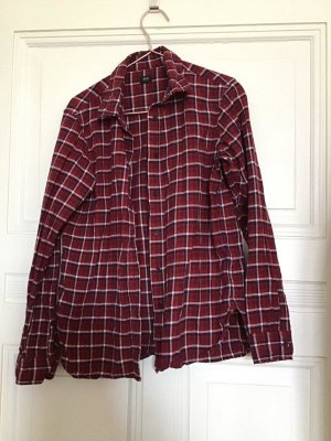 Uniqlo Geruite blouse veelkleurig Katoen
