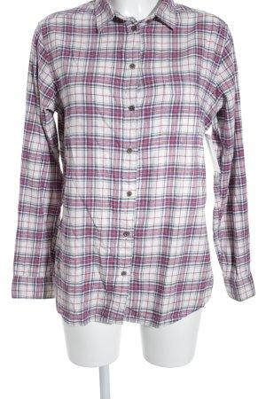 Uniqlo Flanellen hemd geruite print casual uitstraling