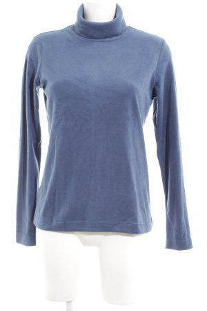 Uniqlo Fleecepullover blau Casual-Look