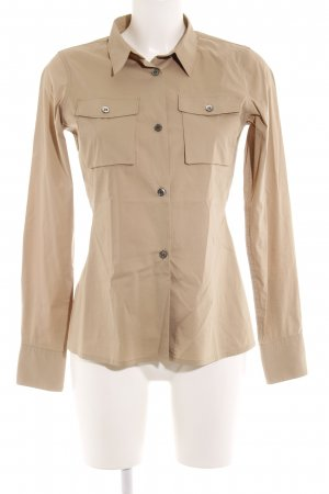 Uniqlo Hemd-Bluse beige Business-Look