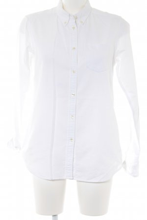 Uniqlo Hemd-Bluse weiß Casual-Look