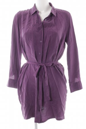 Uniqlo Shirtwaist dress lilac casual look