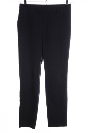 Uniqlo Chinohose schwarz Business-Look