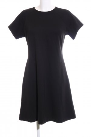 Uniqlo Kurzarmkleid schwarz Casual-Look