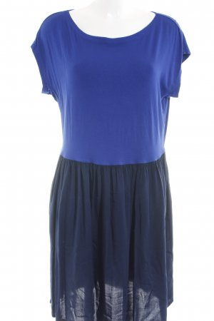 Uniqlo Kurzarmkleid blau-dunkelblau Casual-Look