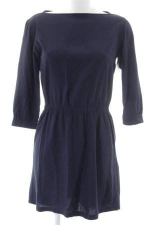 Uniqlo Langarmkleid dunkelblau Casual-Look