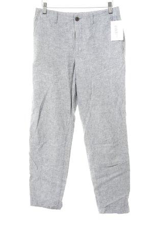 Uniqlo Linen Pants light grey-grey flecked casual look