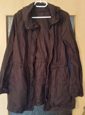 Uniqlo Heavy Raincoat brown violet