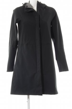 Uniqlo Regenjas zwart simpele stijl
