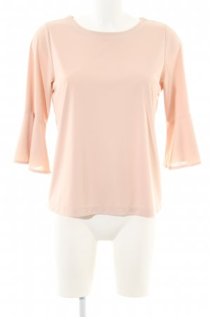 Uniqlo Schlupf-Bluse nude Business-Look