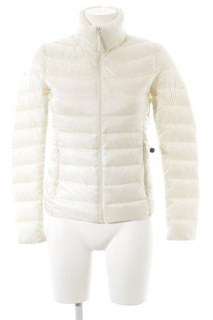 Uniqlo Veste softshell blanc cassé-beige clair style décontracté