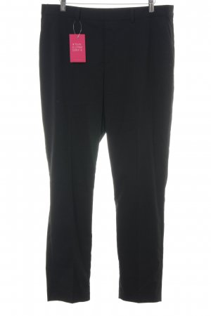 Uniqlo Stoffhose schwarz Business-Look